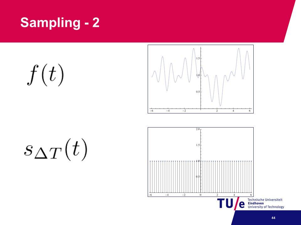 Sampling - 2 44