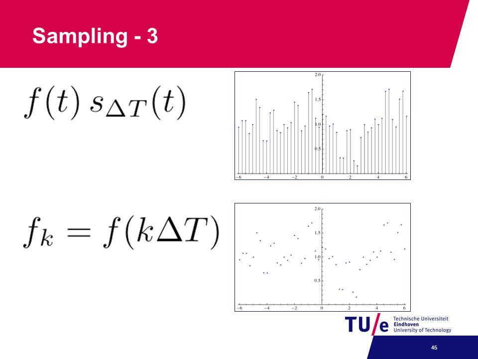 Sampling - 3 45