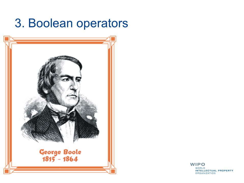 3. Boolean operators OR AND NOT XOR By default….