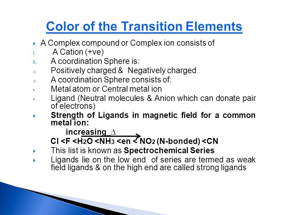 Vitamin B 12 (Cobalamin) contains Co (III) : i.