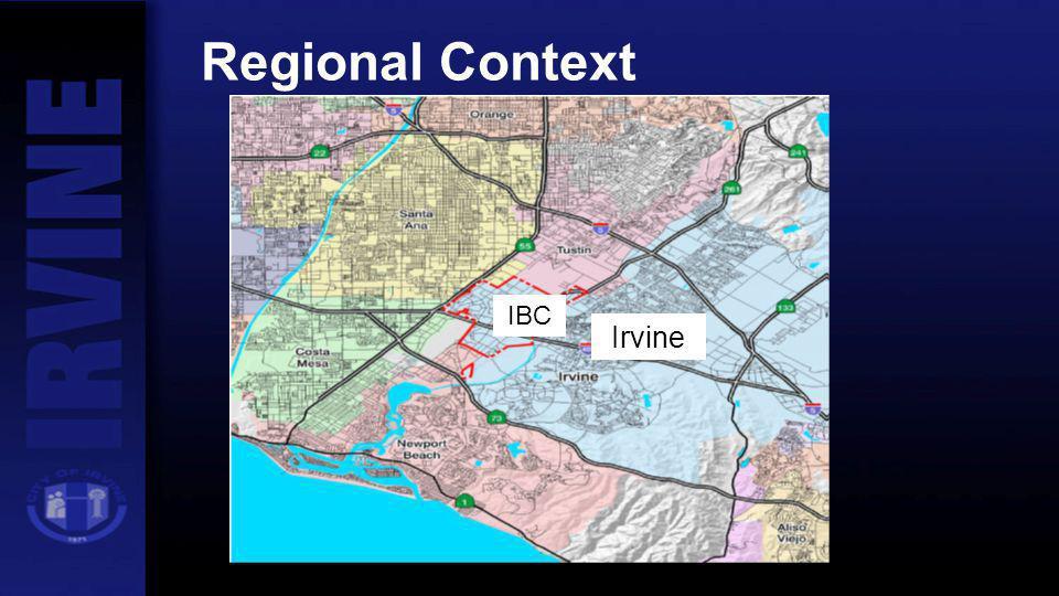 Regional Context Irvine IBC