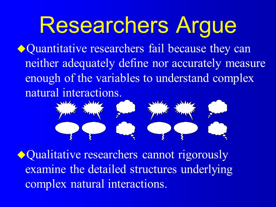 Internal Validity u Validity is primarily a positivistic concept u In qualitative research, equates to credibility u The right setting and informants u Accurate reflection of situation, informant perceptions u Multiple approaches lead to similar results u Multiple researchers yield similar interpretations u Peer review/Informant review