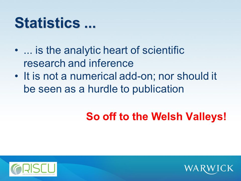 Statistics......