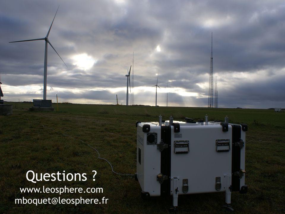 Lidar measurement in complex terrain 20 Thursday, 22 April 2010 20 Questions .
