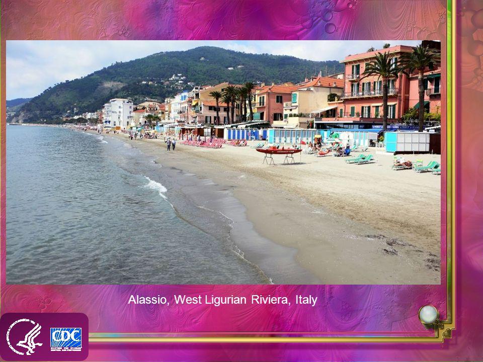 Alassio, West Ligurian Riviera, Italy