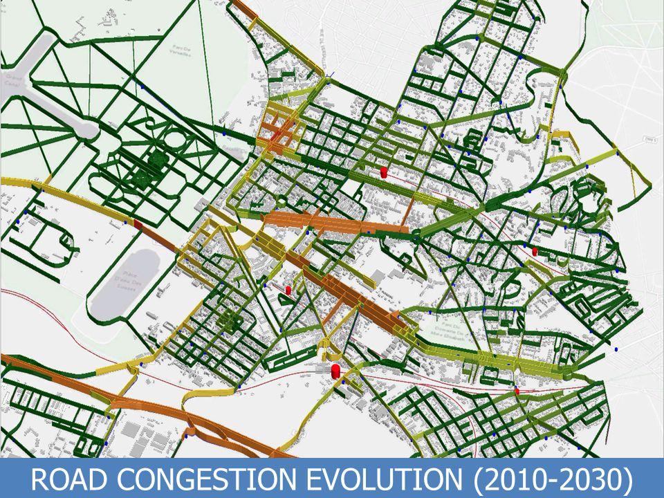 Propriété exclusive de The CoSMo Company – Ne pas diffuser / Exclusive property of The CoSMo Company – Do not distribute ROAD CONGESTION EVOLUTION (2010-2030)