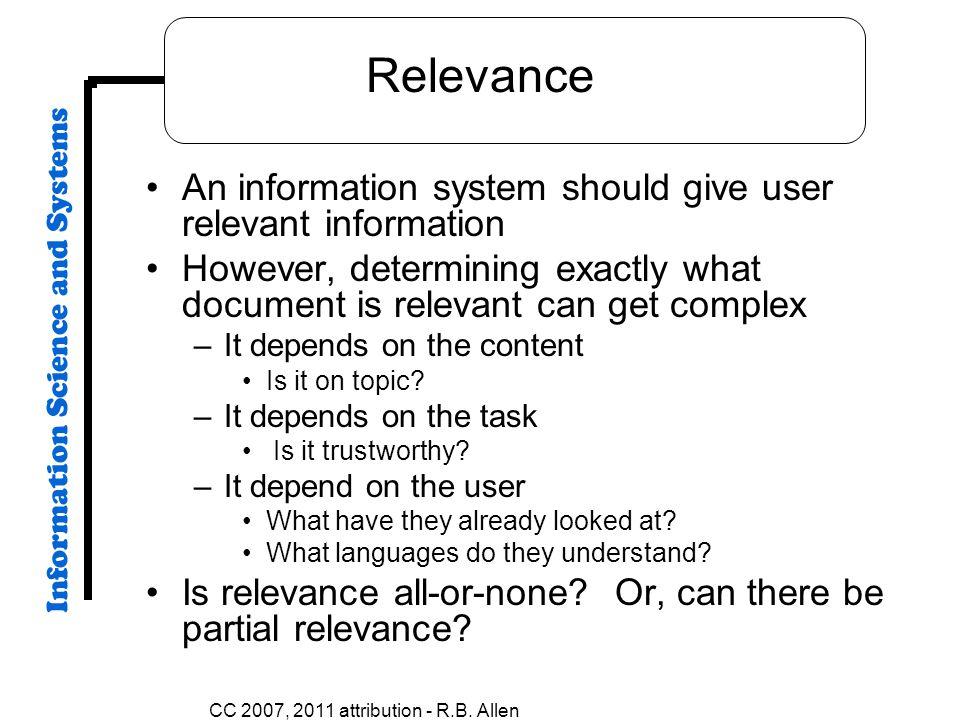 CC 2007, 2011 attribution - R.B.