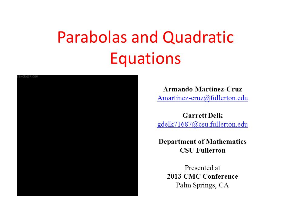 Investigation Drag the vertex.What happens to the parabola as the vertex move.