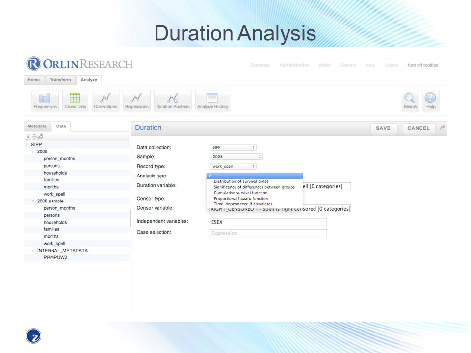 Duration Analysis