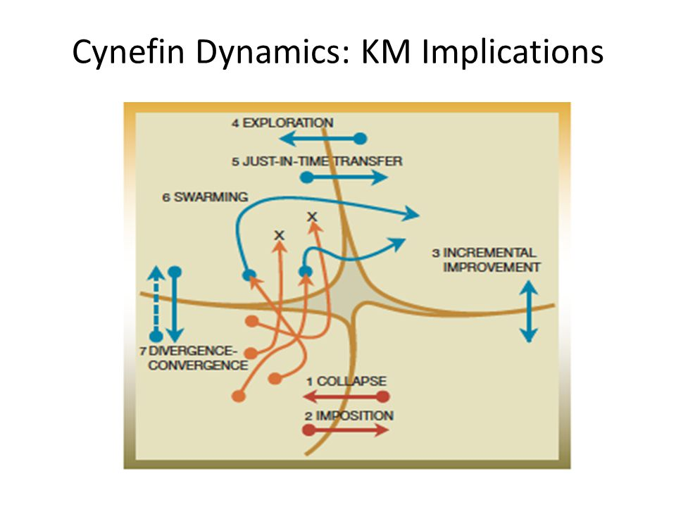 Cynefin Dynamics: KM Implications