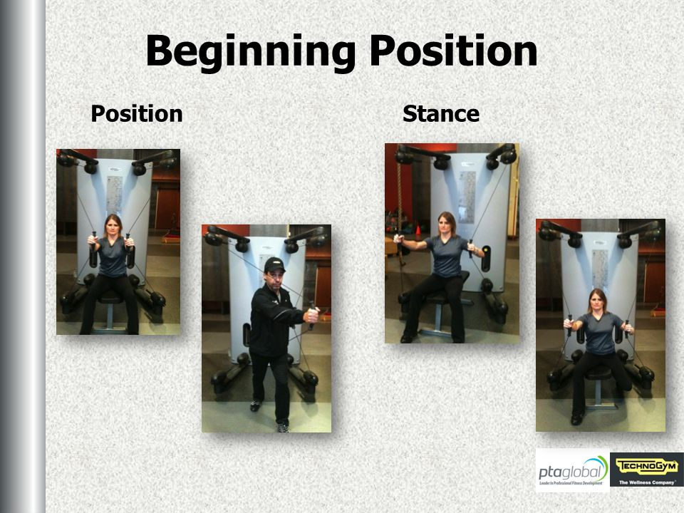Beginning Position PositionStance
