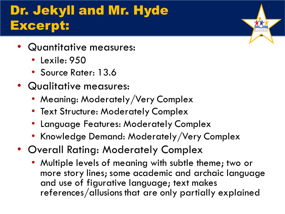Dr. Jekyll and Mr.