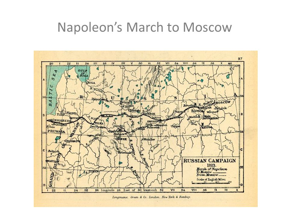 Minards Map of Napoleons March to Moscow