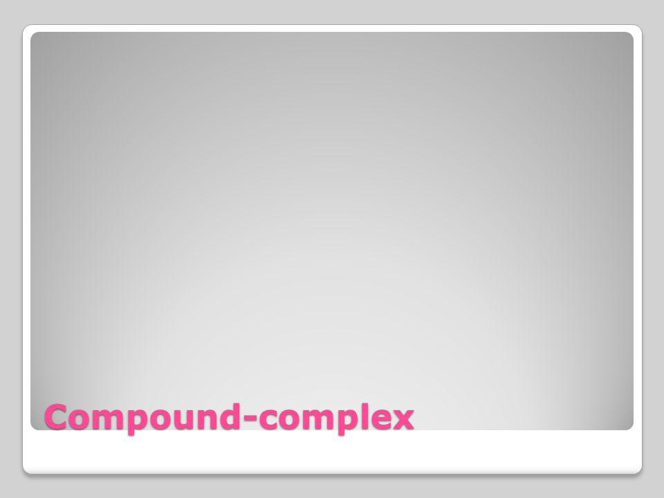Compound-complex