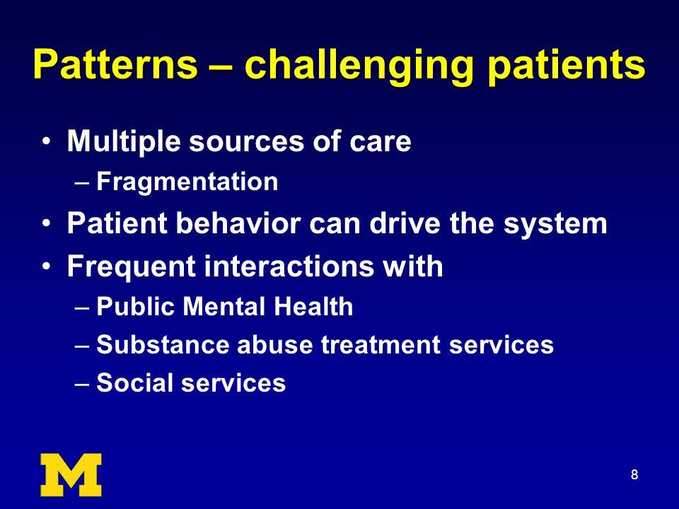 Health Service Utilization Top 45 BlueCaid pts 2009-2010: –Median $70,000 (range $52 - $200 K) –Total $3.7 million 9