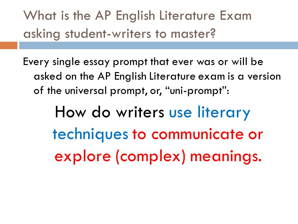 english literature advanced placement nonfiction essay questions