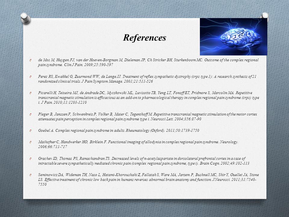 References O de Mos M, Huygen FJ, van der Hoeven-Borgman M, Dieleman JP, Ch Stricker BH, Sturkenboom MC.