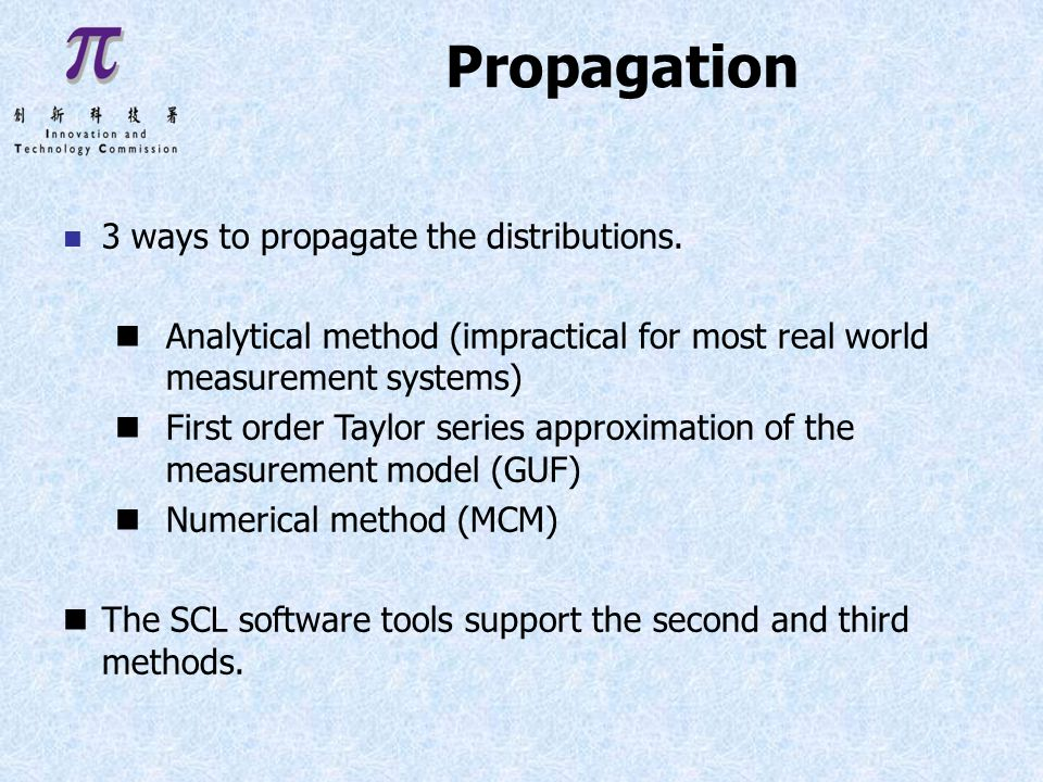 n 3 ways to propagate the distributions.