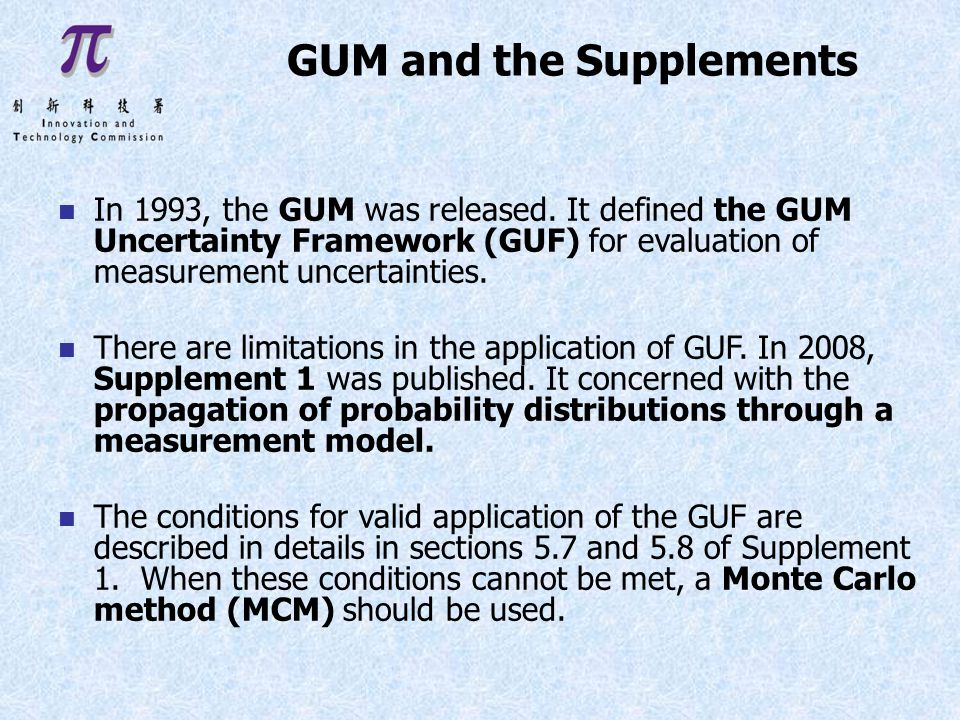 GUM and the Supplements n In 1993, the GUM was released.