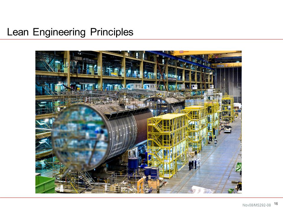 Nov08/MS292-08 Lean Engineering Principles 16
