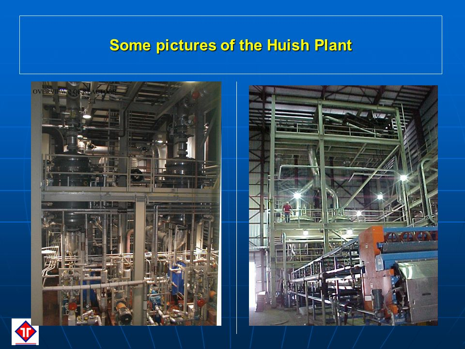 Some pictures of the Huish Plant