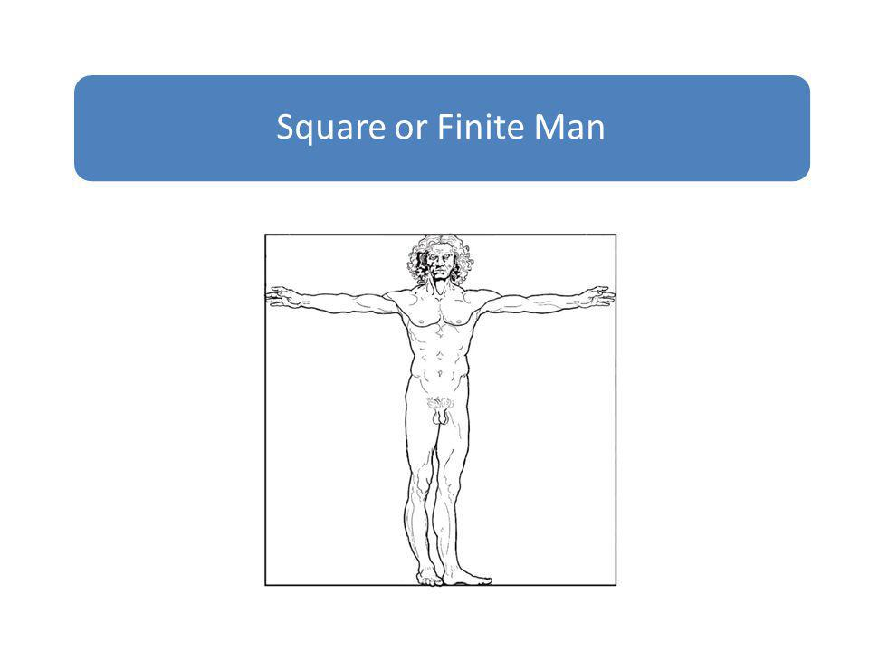 Square or Finite Man