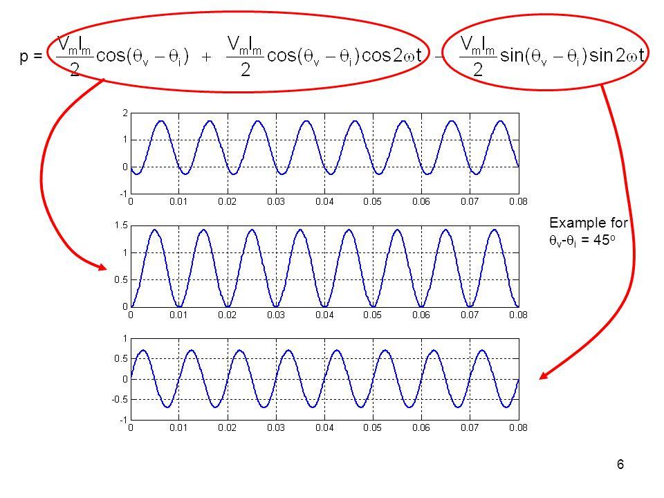 6 Example for v - i = 45 o