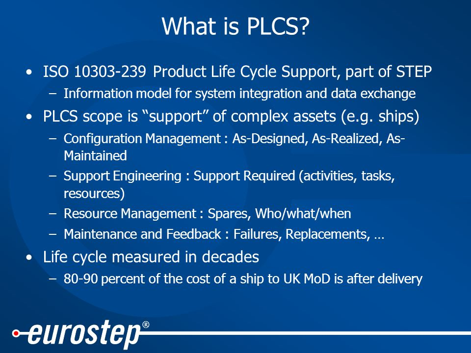 ® What is PLCS.
