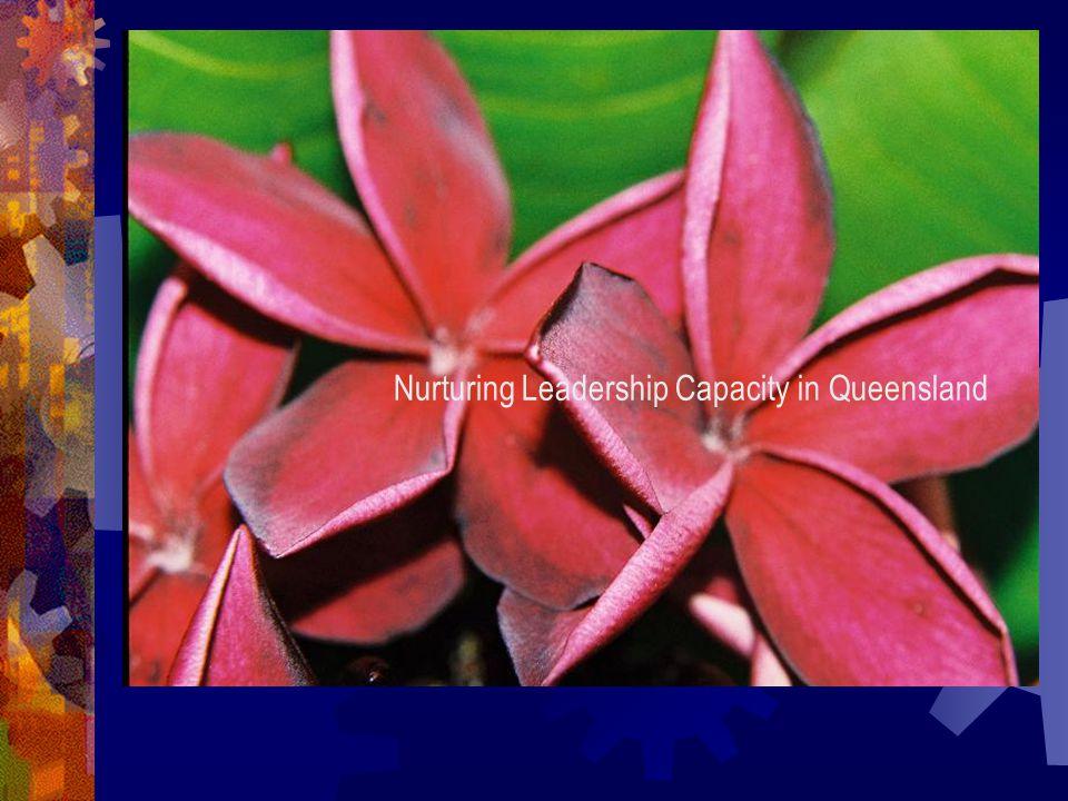 Nurturing Leadership Capacity in Queensland