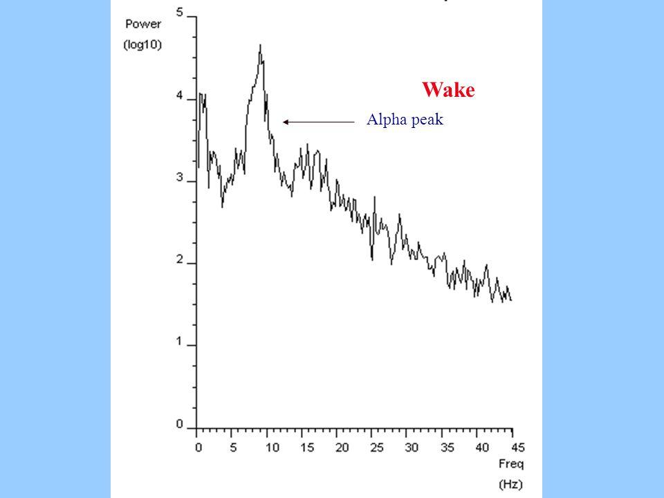 Wake Alpha peak