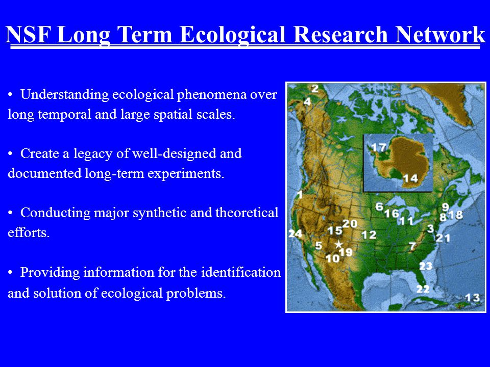 Understanding ecological phenomena over long temporal and large spatial scales.