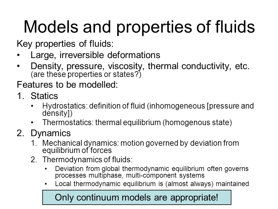 Further diffusion models Nonlinear diffusion model Cross effect among species diffusion Valid at high concentrations more than 2 components low T and/or p gradients (For a binary mixture it falls back to Ficks law.)