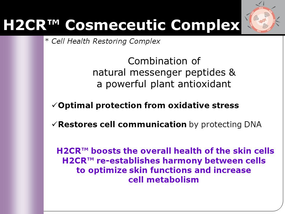 H2CR + Sothys exclusive Flax Complex Re-starts cell metabolism Reveal the essence of a young skin Overall beauty – Equilibrium of the skin Grade 4 : Anti-aging Replenishing Serum Observation: Thin, dull, faded skin Key word: Nutrition