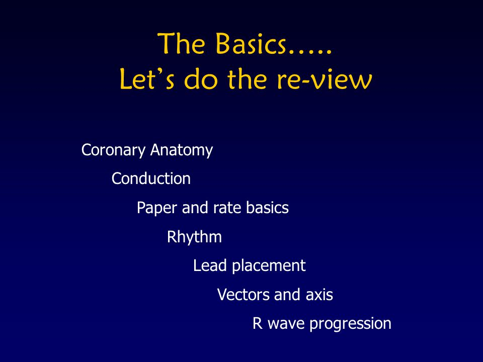 Review #9 What Does This 12-Lead ECG Show.
