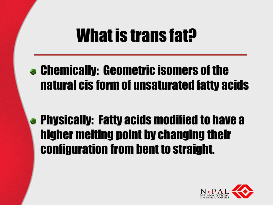 What is trans fat.