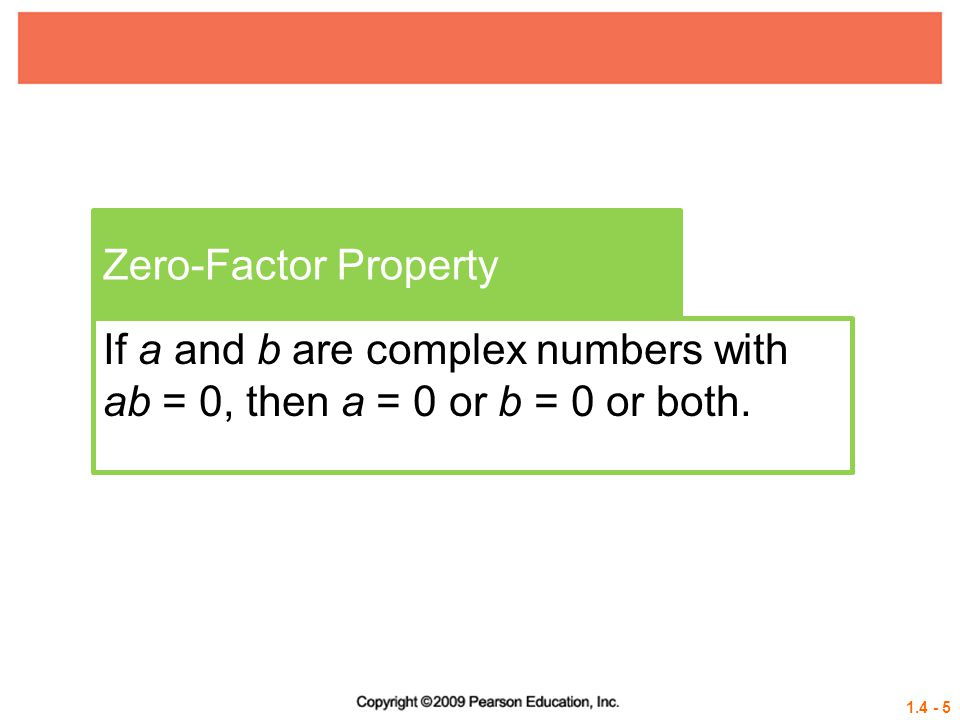 1.4 - 16 Example 3 USING THE METHOD OF COMPLETING THE SQUARE a = 1 Solve x 2 – 4x –14 = 0 by completing the square.