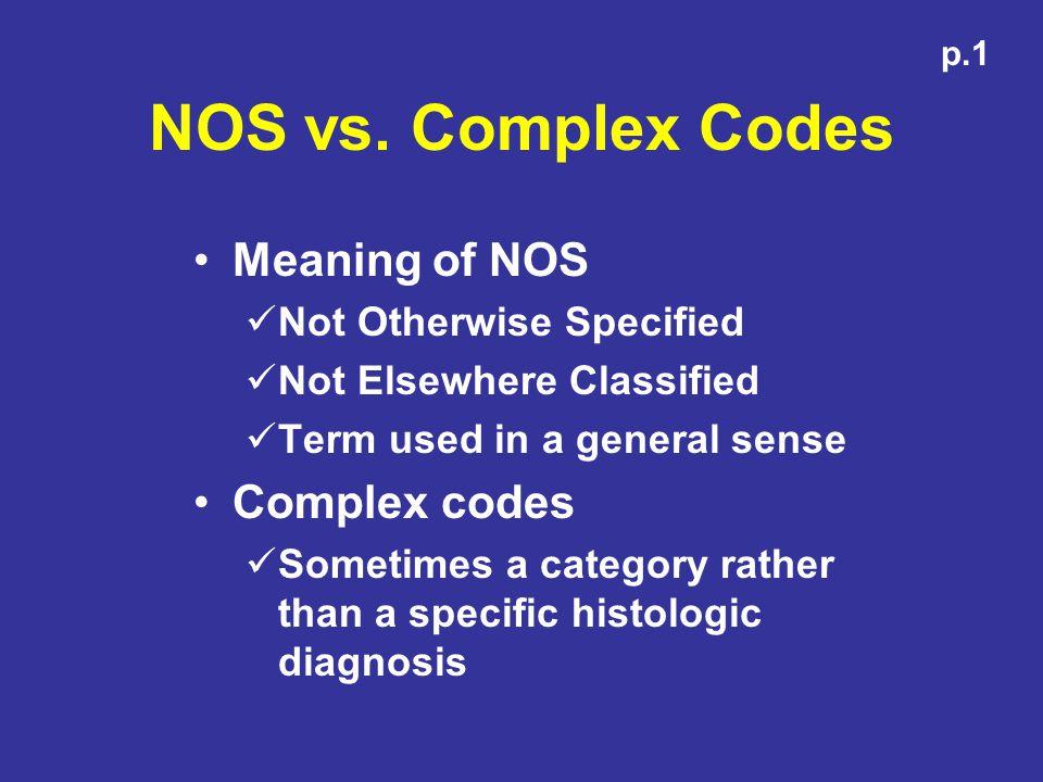 NOS vs.