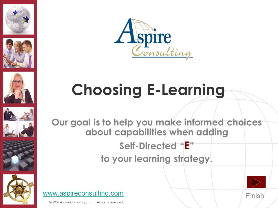 © 2007 Aspire Consulting, Inc. | All rights reserved.