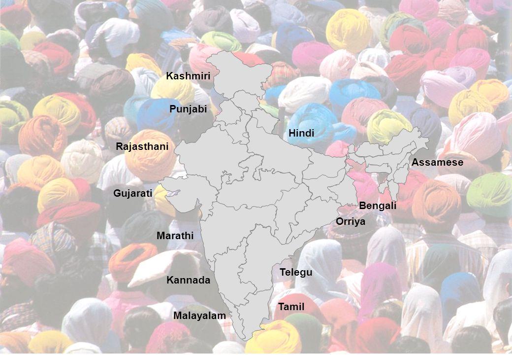 - 6 - Xxxxx-xx/Footer Kashmiri Punjabi Hindi Rajasthani Gujarati Marathi Malayalam Tamil Telegu Kannada Orriya Bengali Assamese