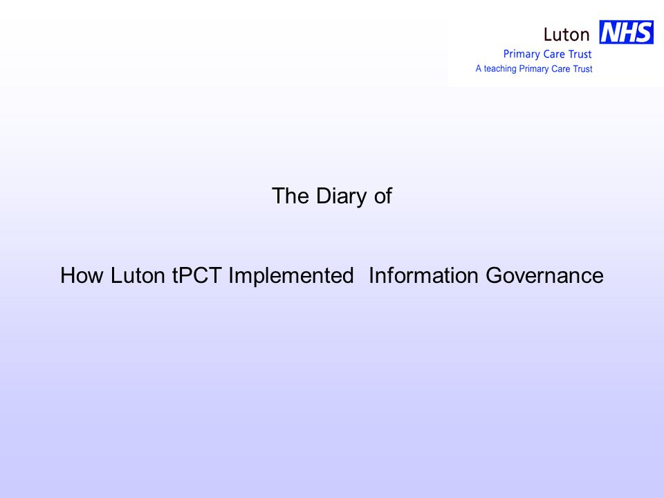 Luton tPCT Information Systems All bases have computer access but not all of them have access to the tPCT server.