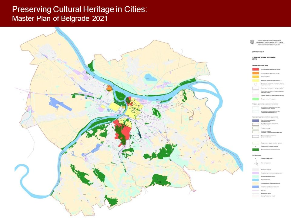 Preserving Cultural Heritage in Cities