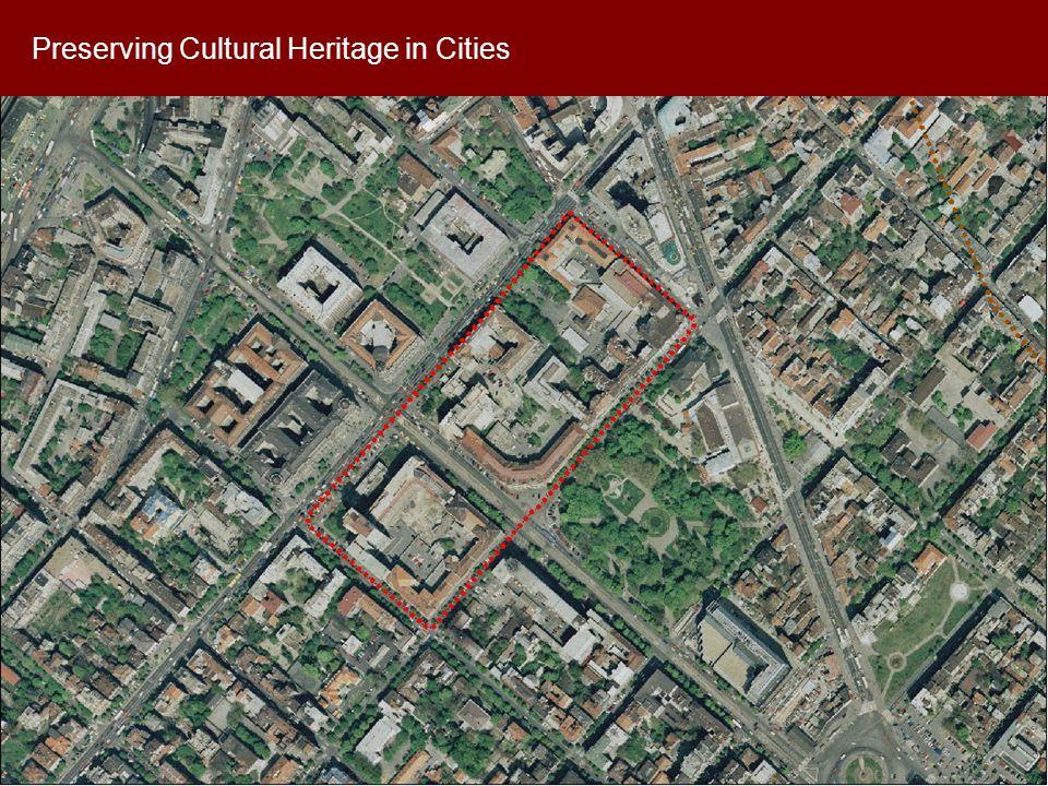 Preserving Cultural Heritage in Cities: E xample of Dobrovics General Staff Building The portal motiv bending over Nemanjina St.