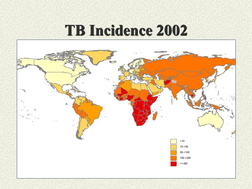 TB Incidence 2002