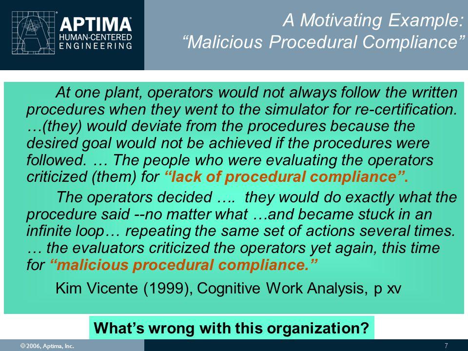 Ó 2006, Aptima, Inc.