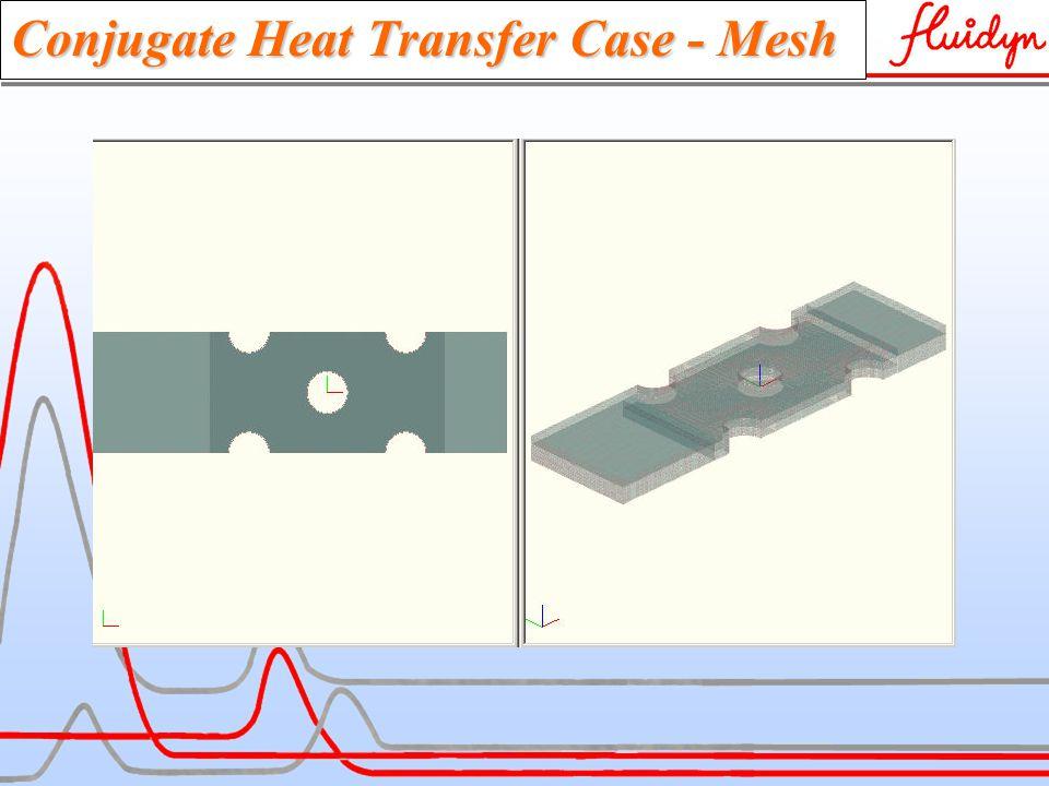 Conjugate Heat Transfer Case - Mesh