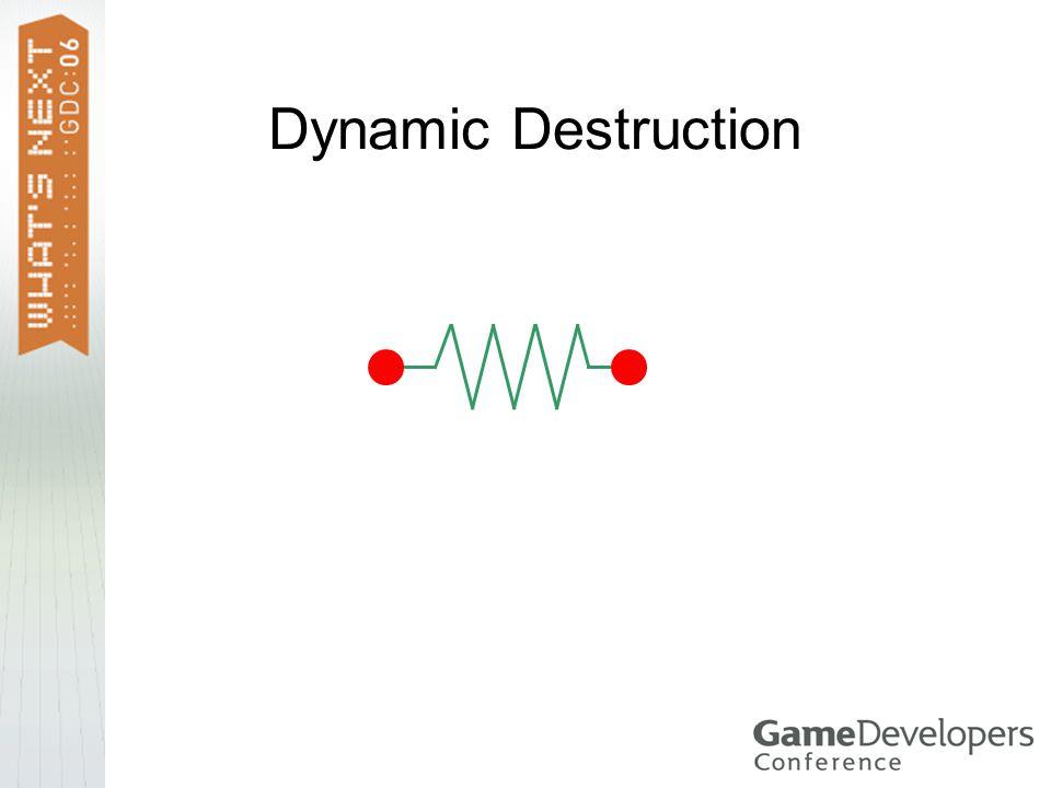 Dynamic Destruction