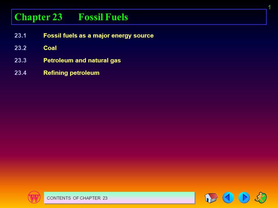 22 23.4 REFINING PETROLEUM WHAT IS OIL REFINING.