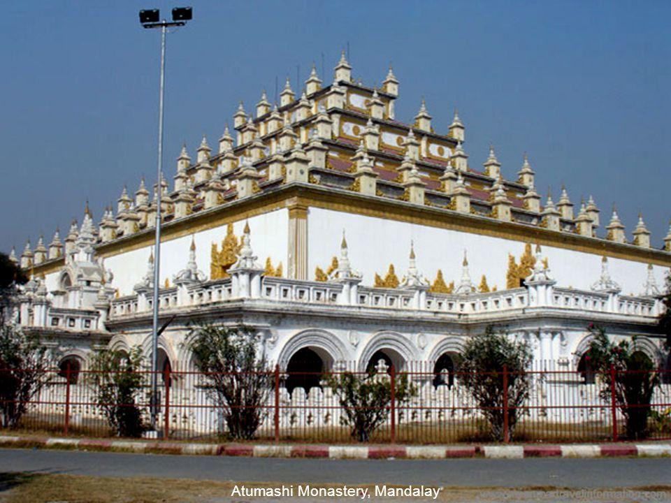 Recilning Buddha at Monywa