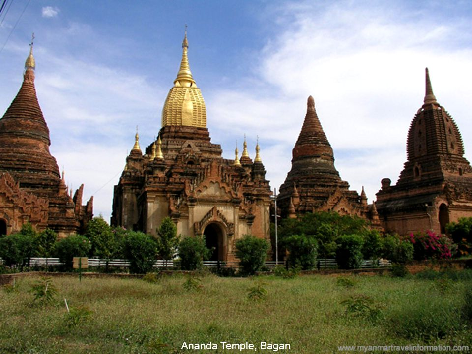 Thatbyinnyu Temple, the highest temple in Bagan