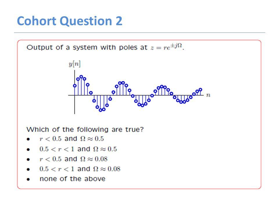 Cohort Question 2